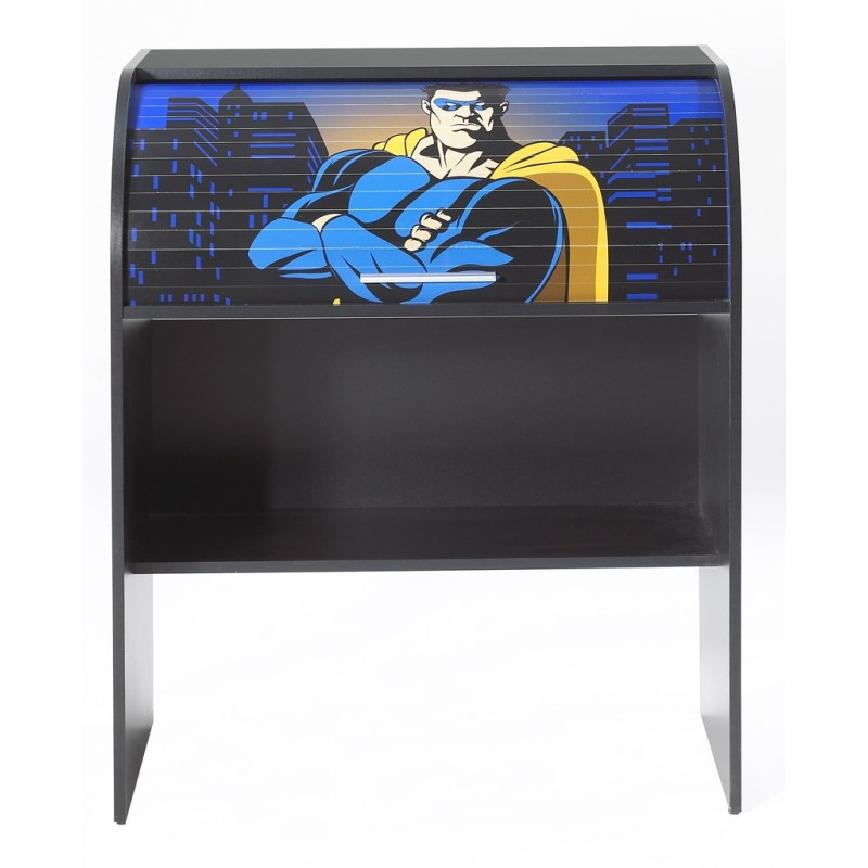 bureau enfant super hero beaux meubles pas chers. Black Bedroom Furniture Sets. Home Design Ideas