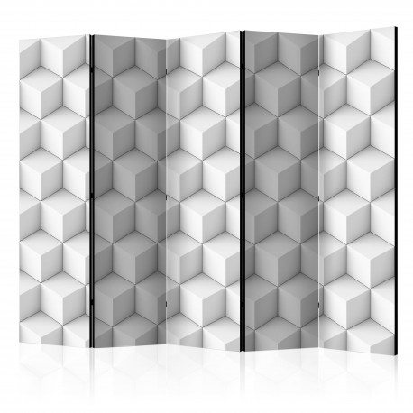 Paravent 5 volets  Room divider – Cube II