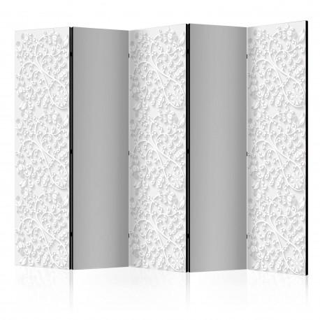 Paravent 5 volets  Room divider – Floral pattern II