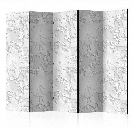 Paravent 5 volets  Room divider – Flowers