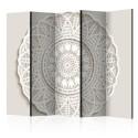 Paravent 5 volets - Mandala 3D II [Room Dividers]