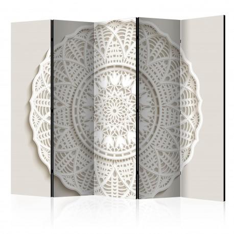 Paravent 5 volets  Mandala 3D II [Room Dividers]