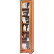 Bibliothèque 1 porte vitré Louis Philippe 7101V