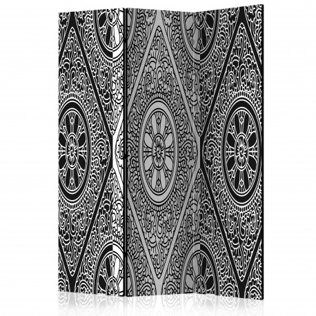 Paravent 3 volets  Ethnic Monochrome [Room Dividers]