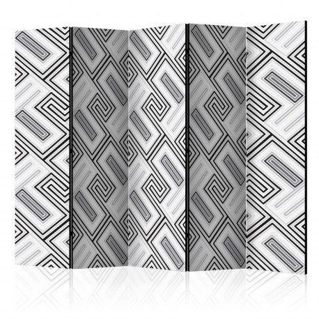 Paravent 5 volets  Ethno Geometry II [Room Dividers]