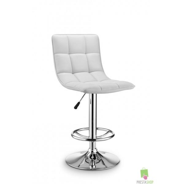 chaise de bar daiki blanche beaux meubles pas chers. Black Bedroom Furniture Sets. Home Design Ideas