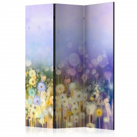 Paravent 3 volets - Painted Meadow [Room Dividers]