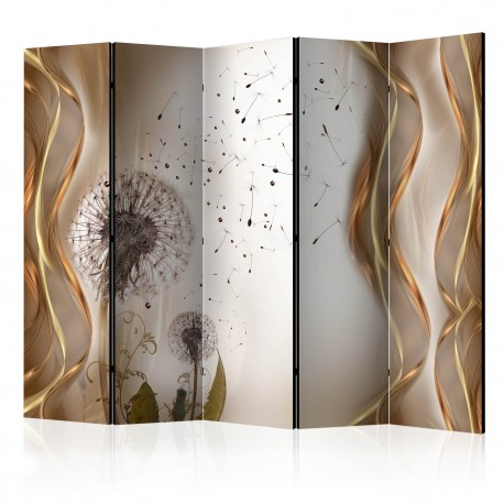 Paravent 5 volets  Fleeting Moments II [Room Dividers]