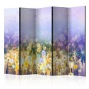 Paravent 5 volets - Painted Meadow II [Room Dividers]