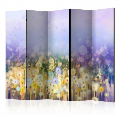 Paravent 5 volets  Painted Meadow II [Room Dividers]