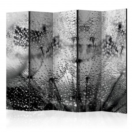 Paravent 5 volets  Kiss of the Rain II [Room Dividers]