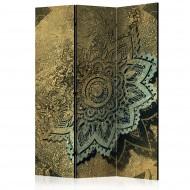 Paravent 3 volets  Golden Treasure [Room Dividers]