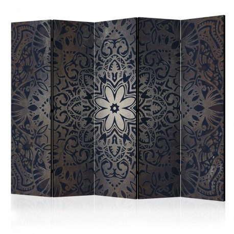 Paravent 5 volets  Iron Flowers II [Room Dividers]