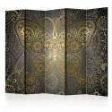 Paravent 5 volets - Golden Butterfly II [Room Dividers]