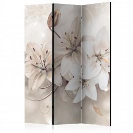 Paravent 3 volets - Diamond Lilies [Room Dividers]