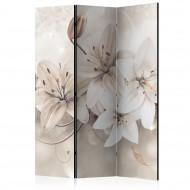 Paravent 3 volets  Diamond Lilies [Room Dividers]