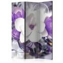 Paravent 3 volets - Purple Empress [Room Dividers]