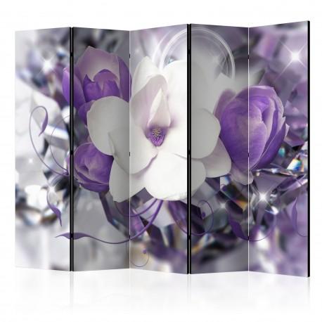 Paravent 5 volets  Purple Empress II [Room Dividers]