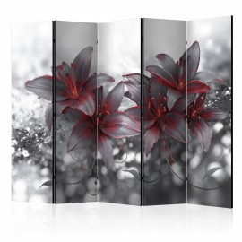 Paravent 5 volets - Shadow of Passion II [Room Dividers]