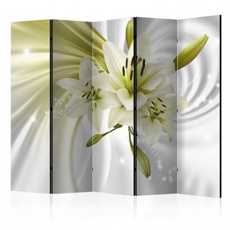 Paravent 5 volets  Green Captivation II [Room Dividers]