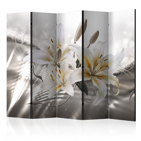 Paravent 5 volets  Crystalline Beauty II [Room Dividers]