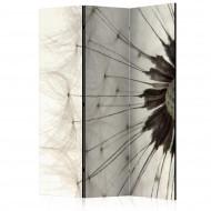 Paravent 3 volets  White Dandelion [Room Dividers]