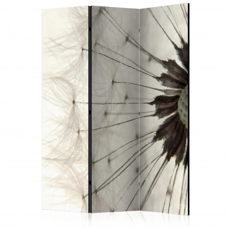 Paravent 3 volets  White Dandelion [Room Dividers]