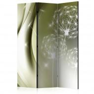 Paravent 3 volets  Green Gentleness [Room Dividers]