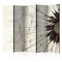 Paravent 5 volets - White Dandelion II [Room Dividers]