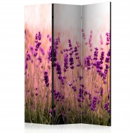 Paravent 3 volets  Lavender in the Rain [Room Dividers]