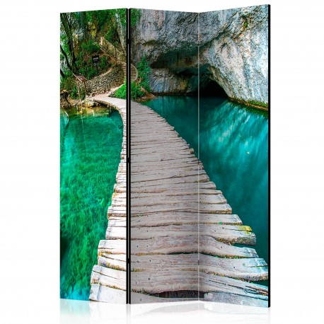 Paravent 3 volets  Emerald Lake [Room Dividers]