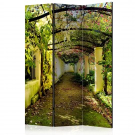 Paravent 3 volets - Romantic Garden [Room Dividers]