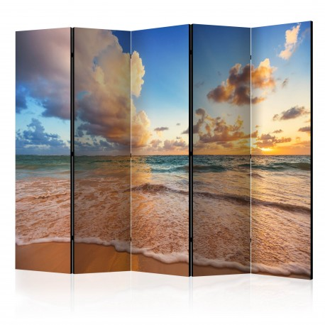 Paravent 5 volets  Morning by the Sea II [Room Dividers]