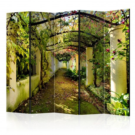 Paravent 5 volets  Romantic Garden II [Room Dividers]