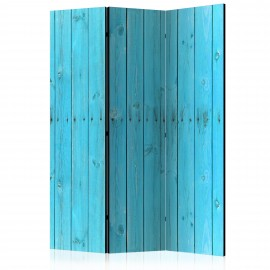Paravent 3 volets - The Blue Boards [Room Dividers]