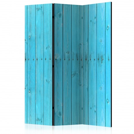 Paravent 3 volets  The Blue Boards [Room Dividers]