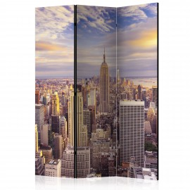 Paravent 3 volets - New York Morning [Room Dividers]