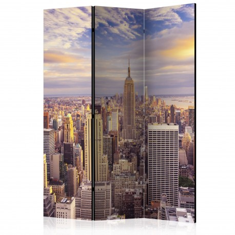 Paravent 3 volets  New York Morning [Room Dividers]