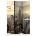 Paravent 3 volets - Light of New York [Room Dividers]