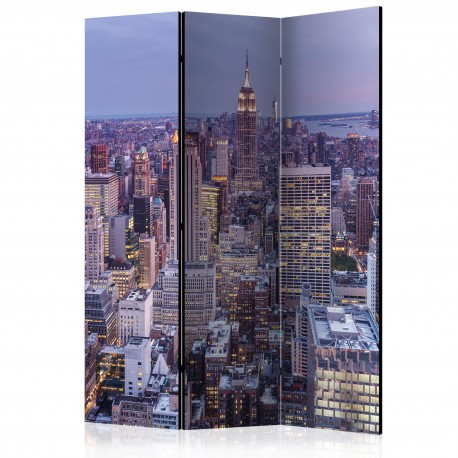 Paravent 3 volets  Evening City [Room Dividers]