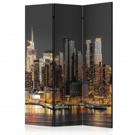Paravent 3 volets - New York at Twilight [Room Dividers]