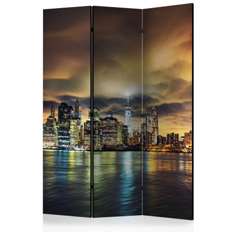 Paravent 3 volets  New York Sky [Room Dividers]