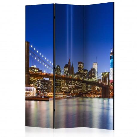 Paravent 3 volets  Blue New York [Room Dividers]