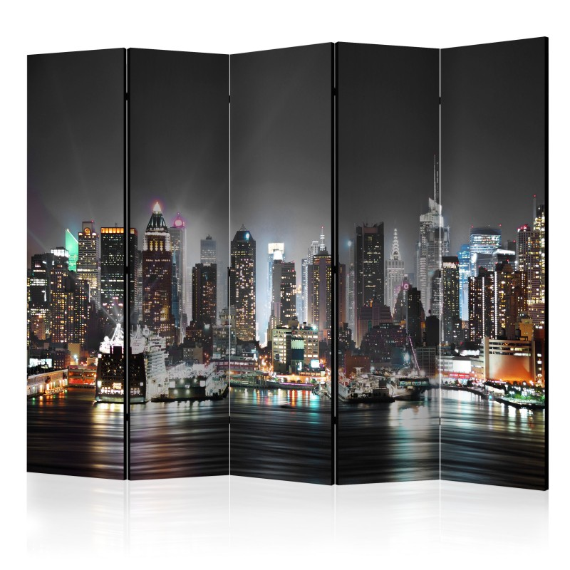 Paravent 5 volets - New York II Room Dividers - Beaux ...
