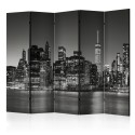 Paravent 5 volets - New York Nights II [Room Dividers]