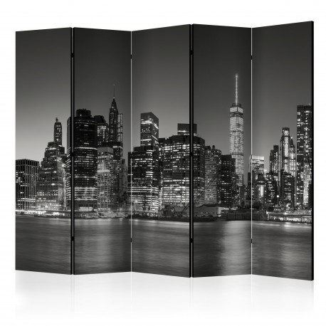 Paravent 5 volets  New York Nights II [Room Dividers]