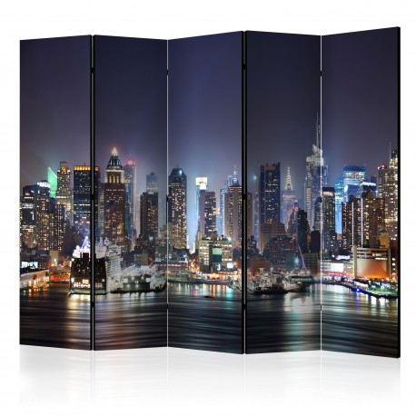 Paravent 5 volets  Night Port II [Room Dividers]