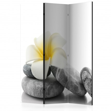 Paravent 3 volets  White Lotus [Room Dividers]