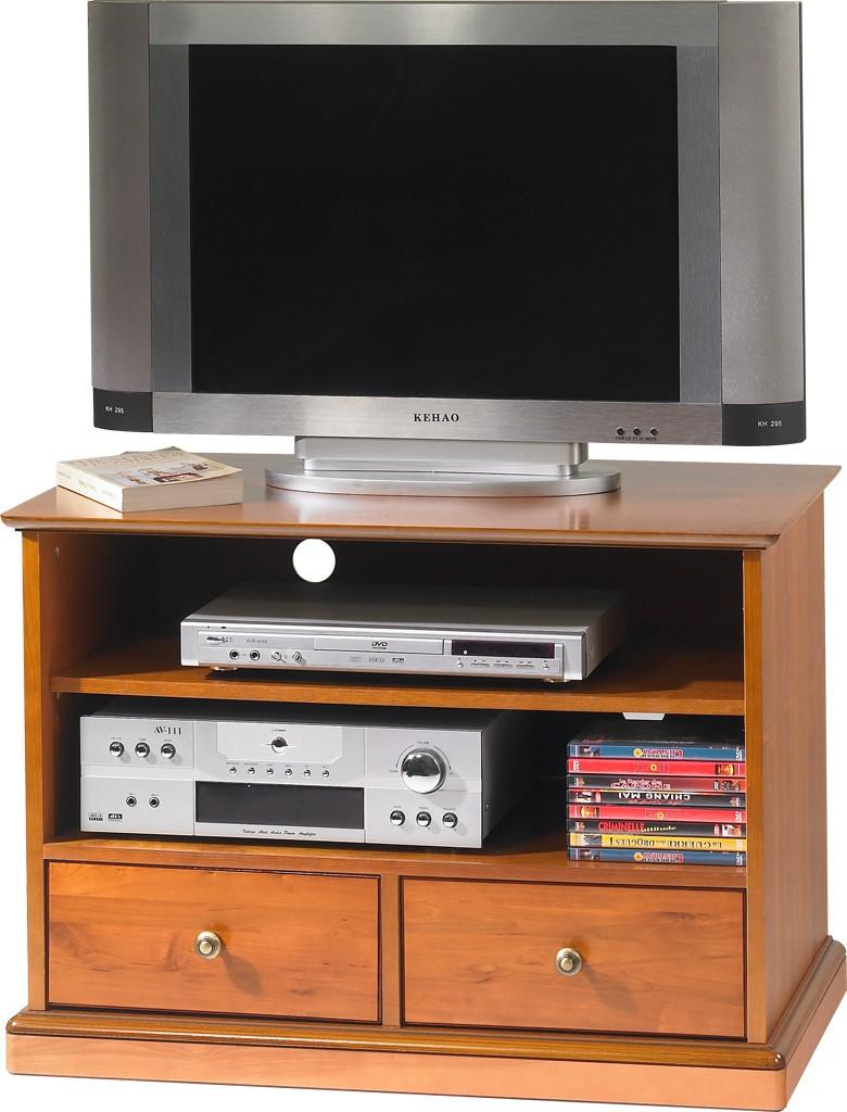 Meubles Tv Hi Fi Beaux Meubles Pas Chers # Meuble Tv Noir A Roulette