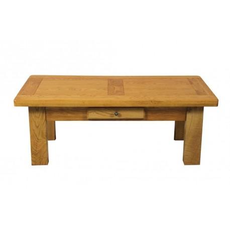 Table basse rectangle Chêne Moyen